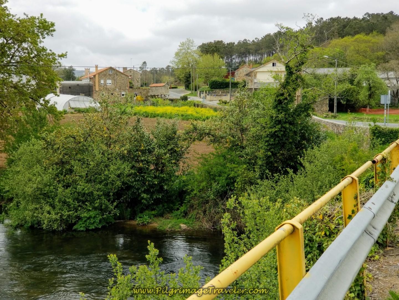 Cross the Río Xallas into Olveiroa