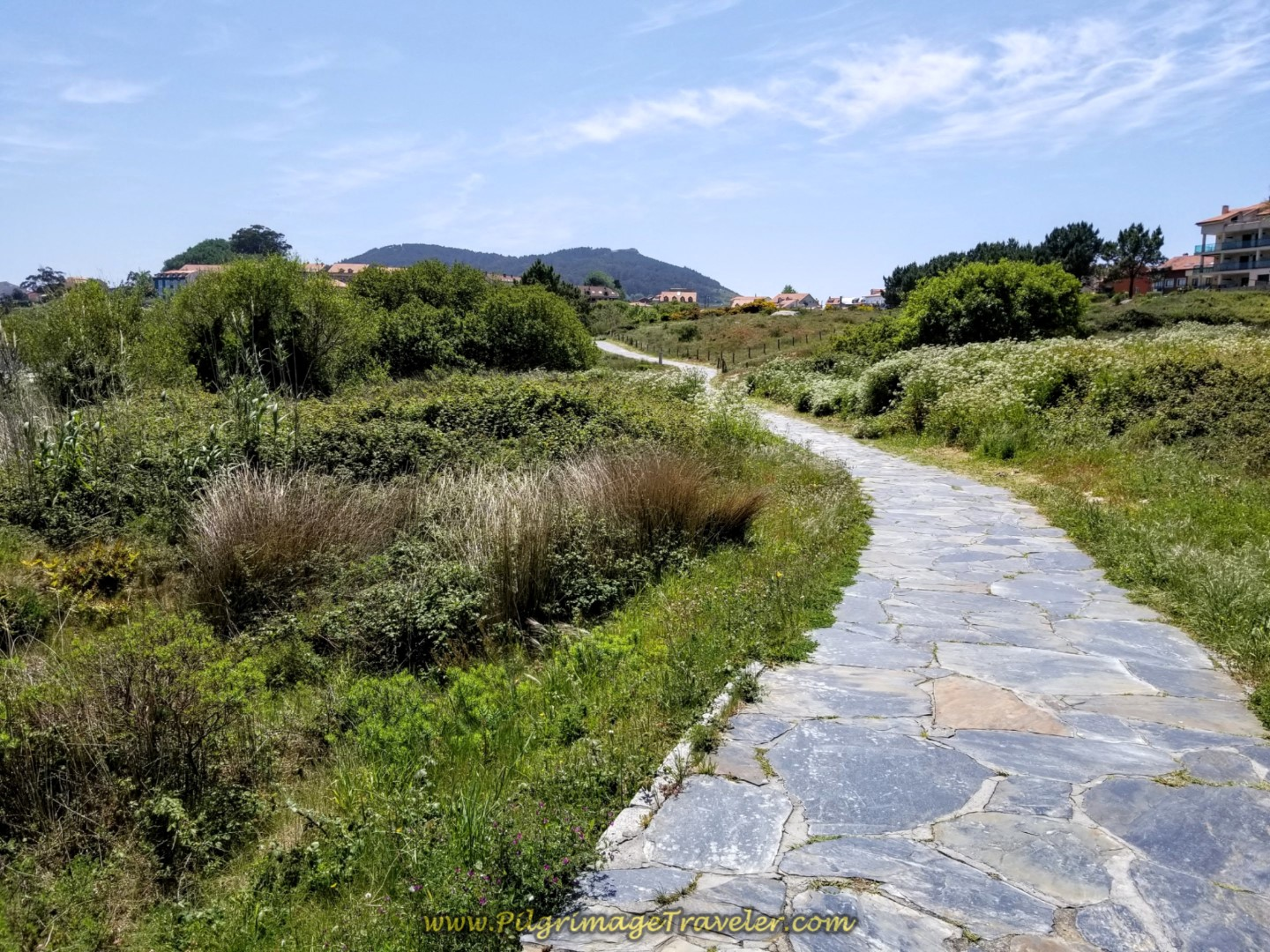The Long Beach Path Continues toward Finisterre on day three of the Camino