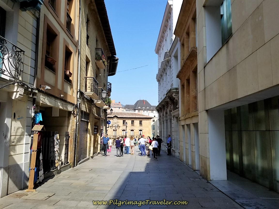 Steps From the Plaza and Cathedral of Oviedo
