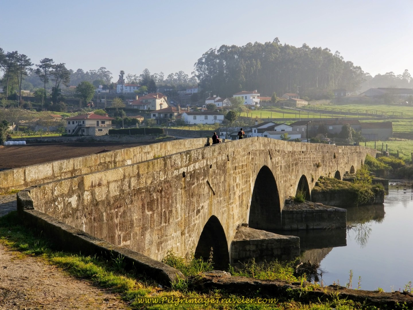 12th Century Bridge ~ Ponte D. Zameiro, Ponte do Ave, Portugal on the Central Route of the Camino Portugués