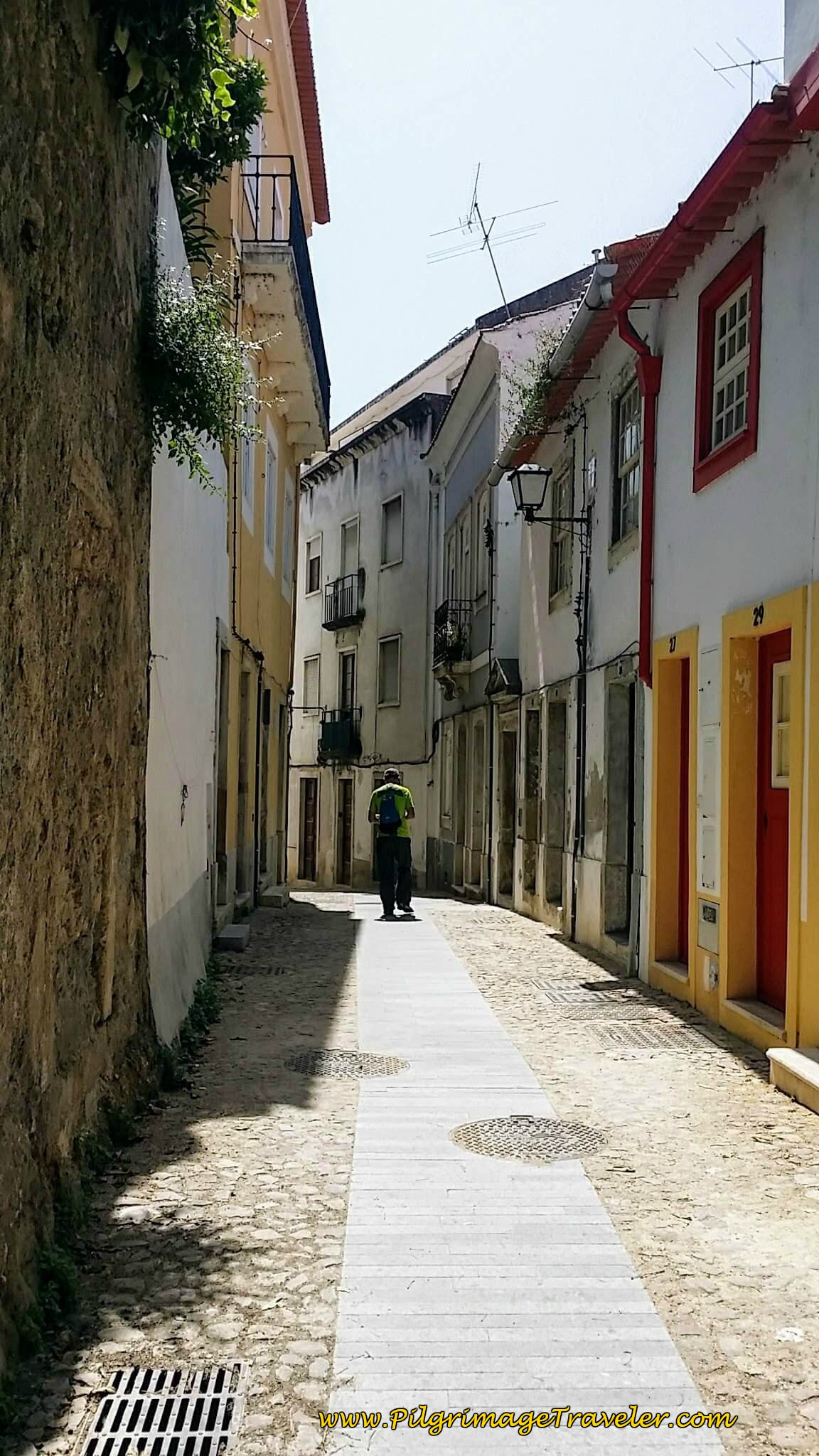 Narrow Streets of the Rua Sobre Ribas, Coimbra, Portugal