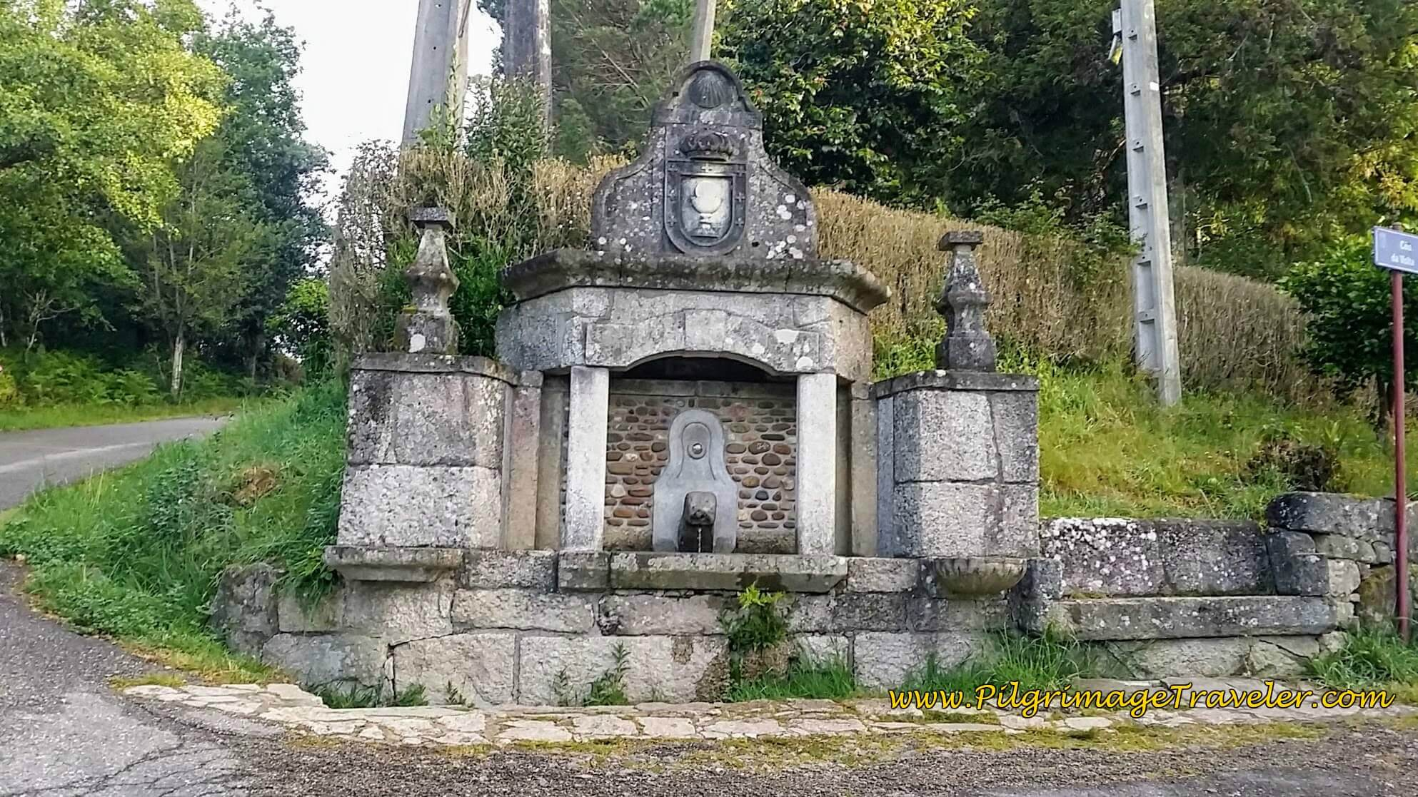 Wayside Fountain, day twenty-two on the Camino Portugués