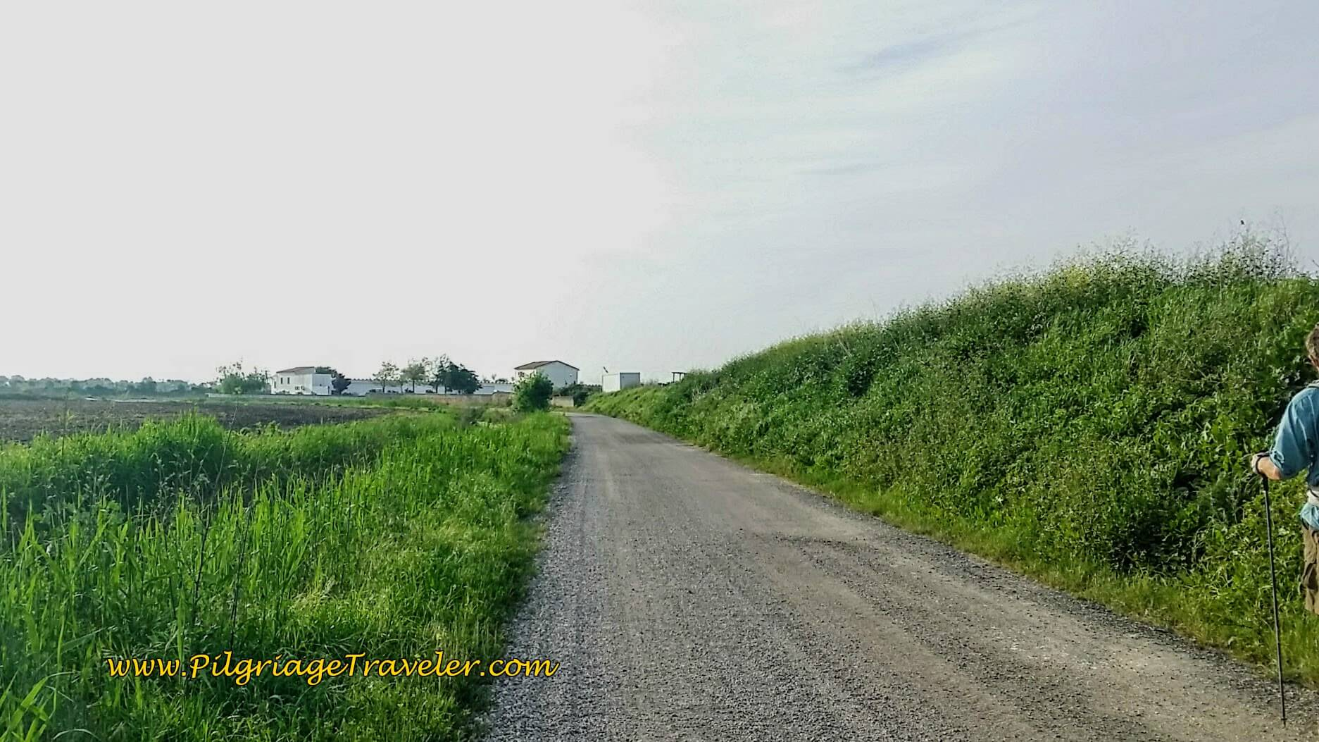 Walking Toward the Aeródromo de Alqueidâo and the N3-3