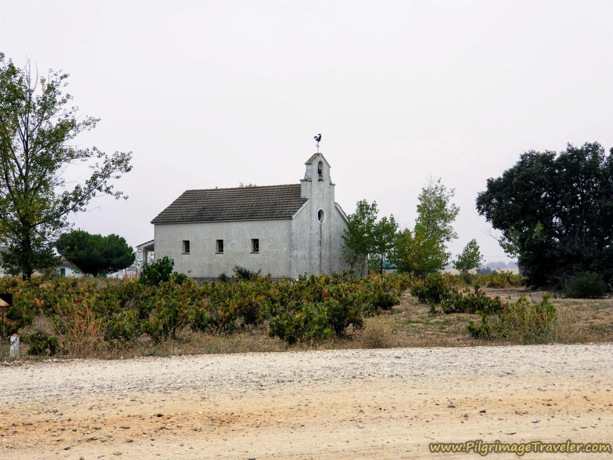 Wayside Chapel at Top of Second Overpass on the Vía de la Plata from Cañedino to Villanueva de Campeán