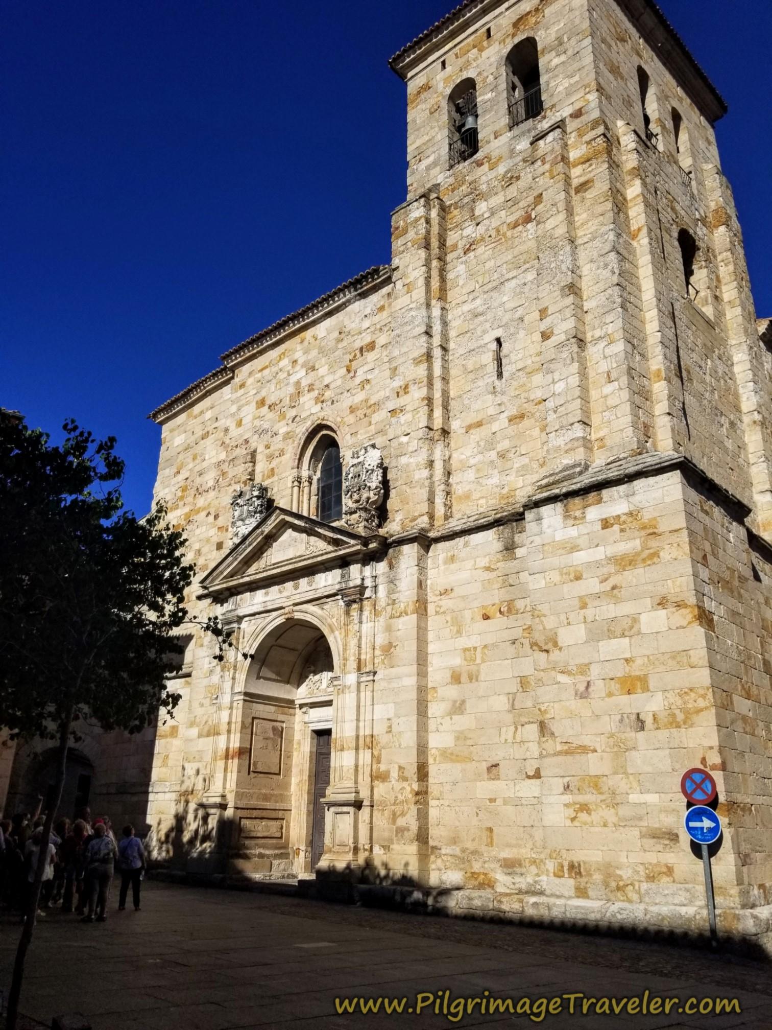 West Façade, Iglesia de San Pedro y San Ildefonso