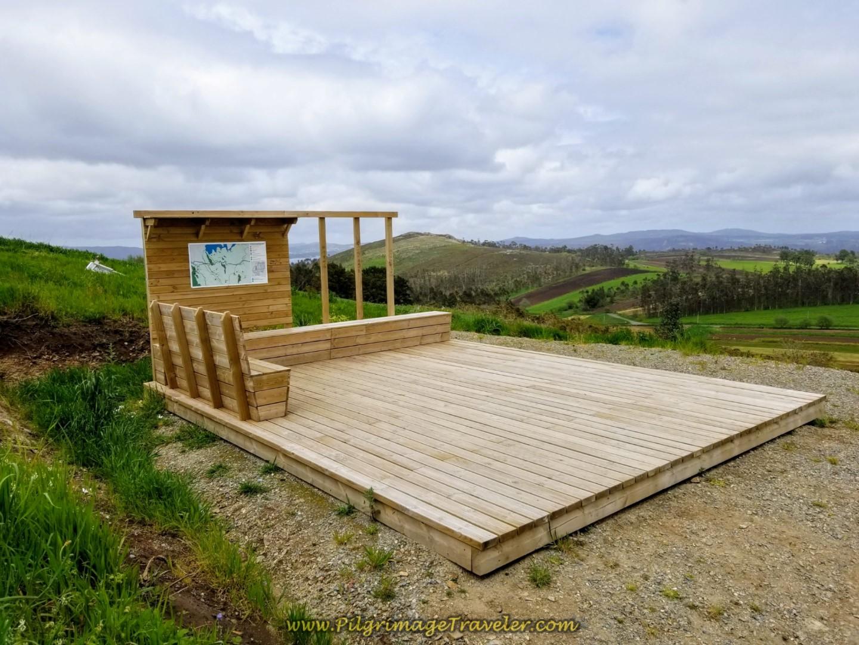 Viewing Platform at Top of Monte Aro