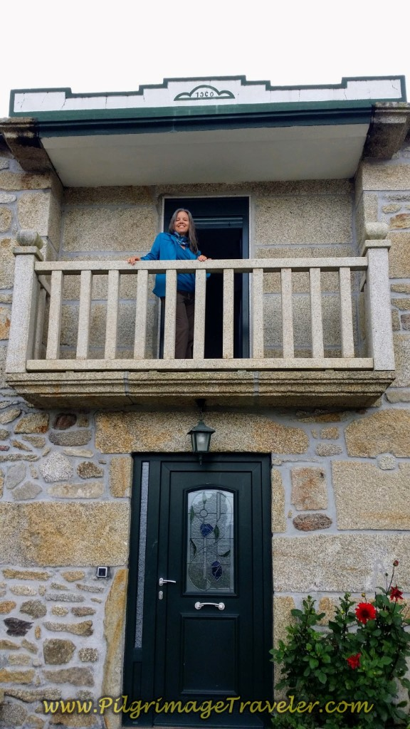 Casa Loncho, Olveiroa, Galicia, Spain, on day two of the Camino Finisterre