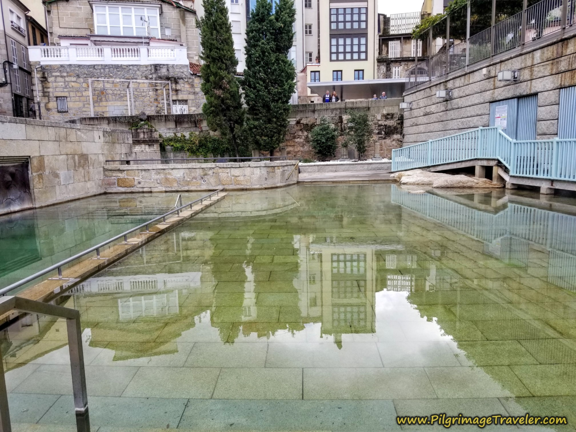 As Burgos Public Thermal Pools in Ourense on the Camino Sanabrés