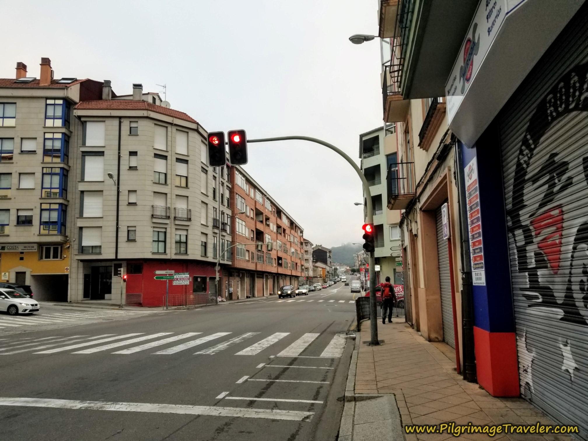 Along the Avenida de Santiago