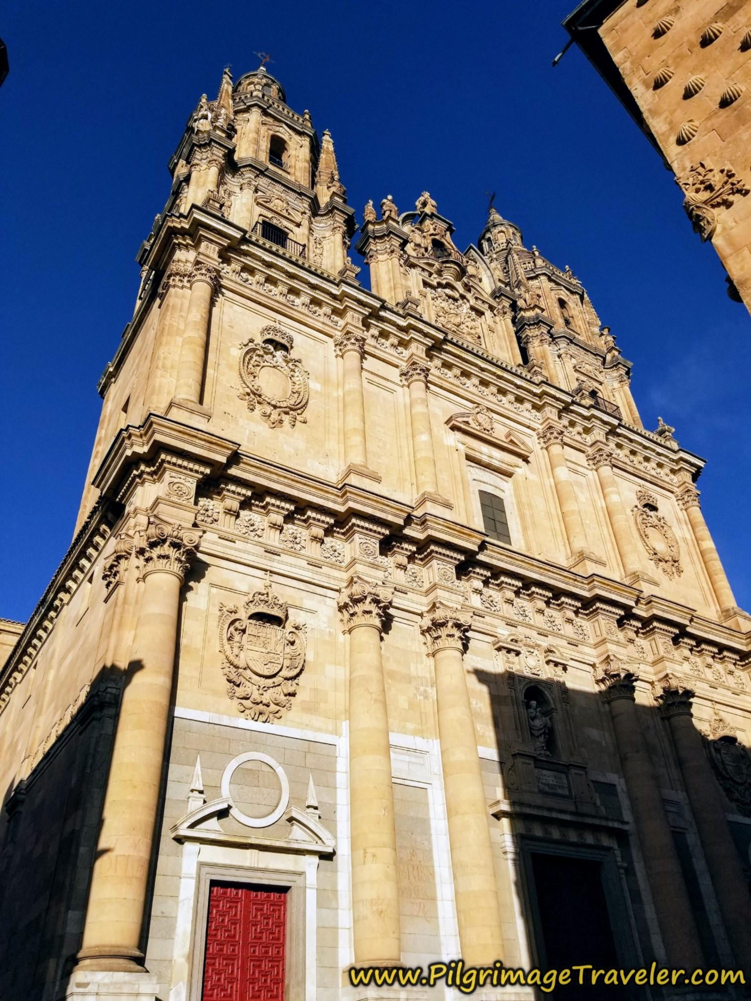 Iglesia de la Clerecía, Salamanca, Spain