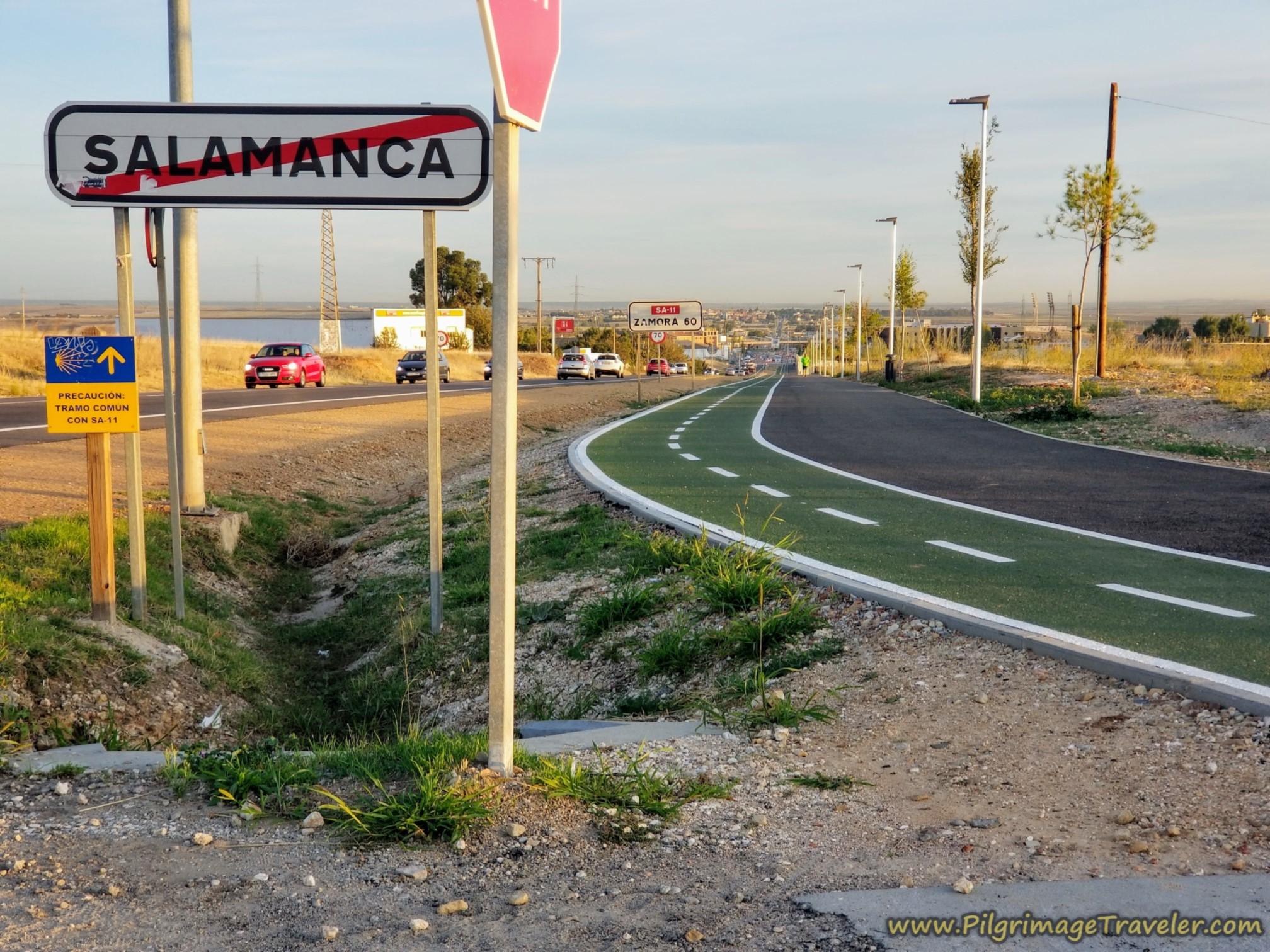 Leaving Salamanca
