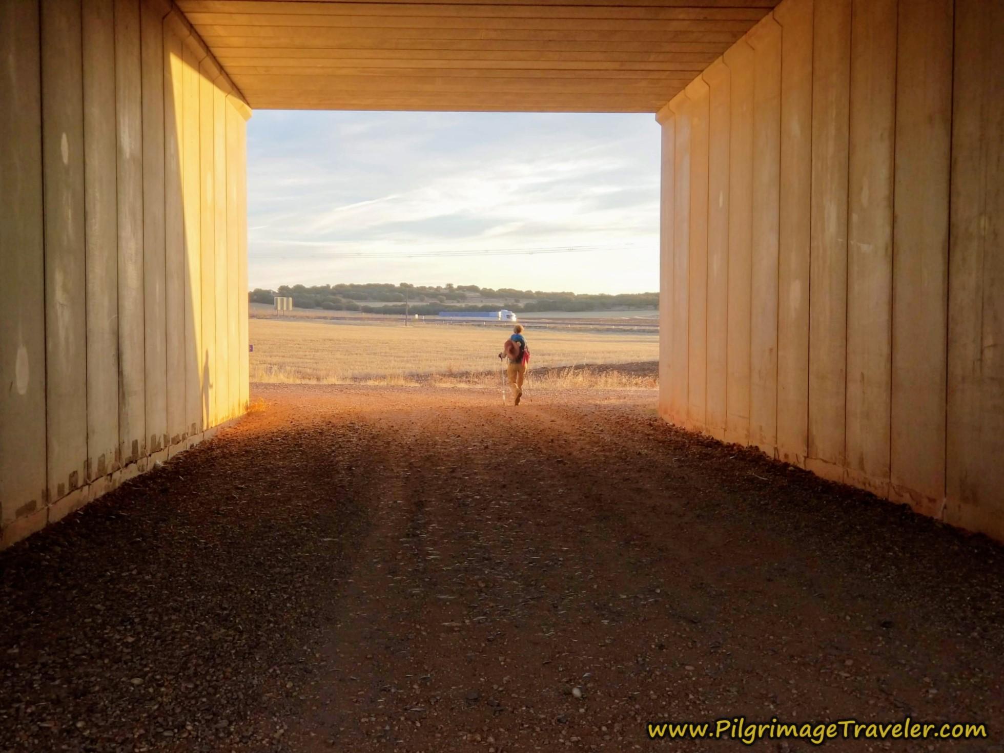 Pass Through Railroad Tunnel