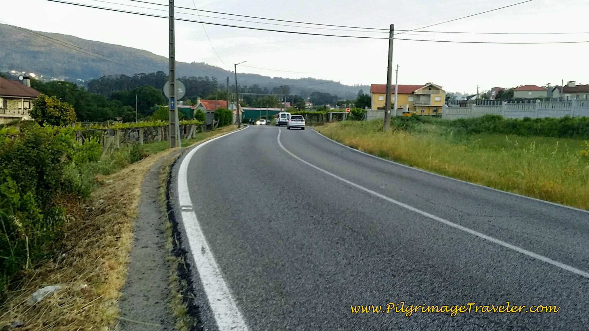 Pilgrim's Path Along the PO-225 on day twenty-three, Camino Portugués
