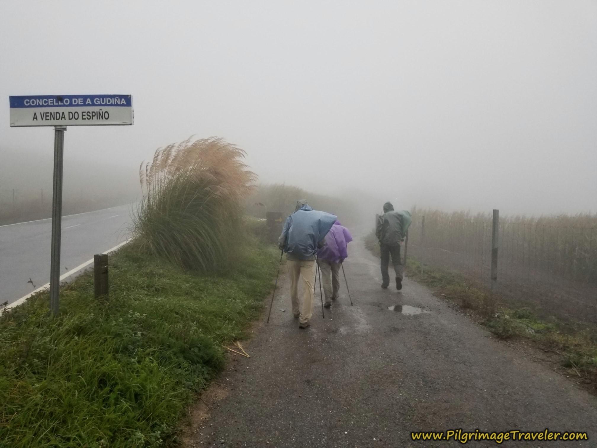 Side Road to A Venda do Espiño