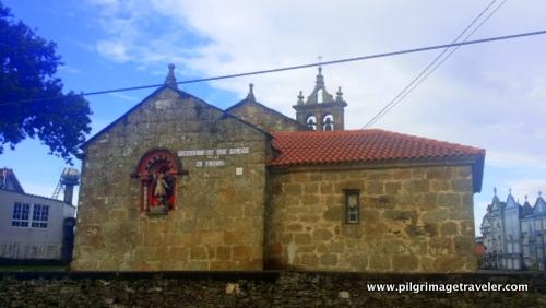Parish Church of Buscas, Camino Inglés, Spain
