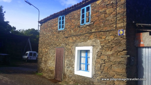 Quaint Stone Home with Waymark, Camino Inglés, Spain