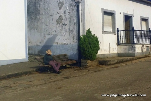 Man Taking a Siesta, Poulo, Spain