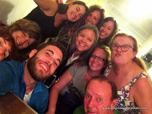 Group Selfie of the Camino Family