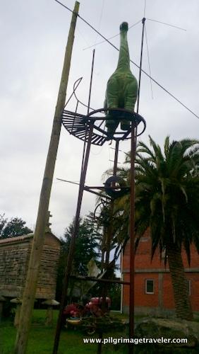 Brontosauras, O Porto, Camino Inglés, Spain