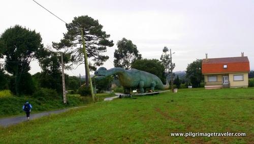 Tyrannosauras Rex, Camino Inglés, Spain