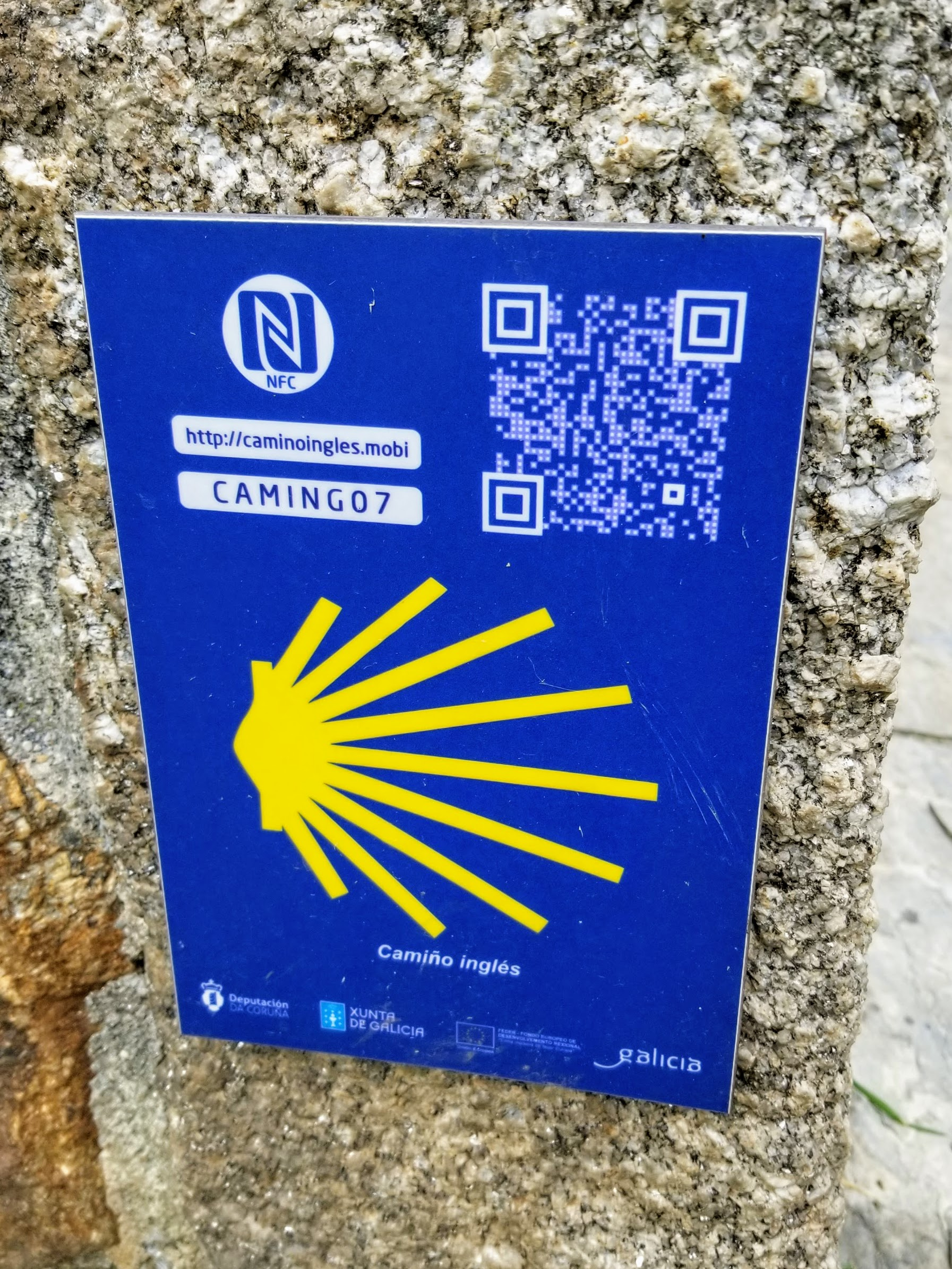 NFC Information Sign