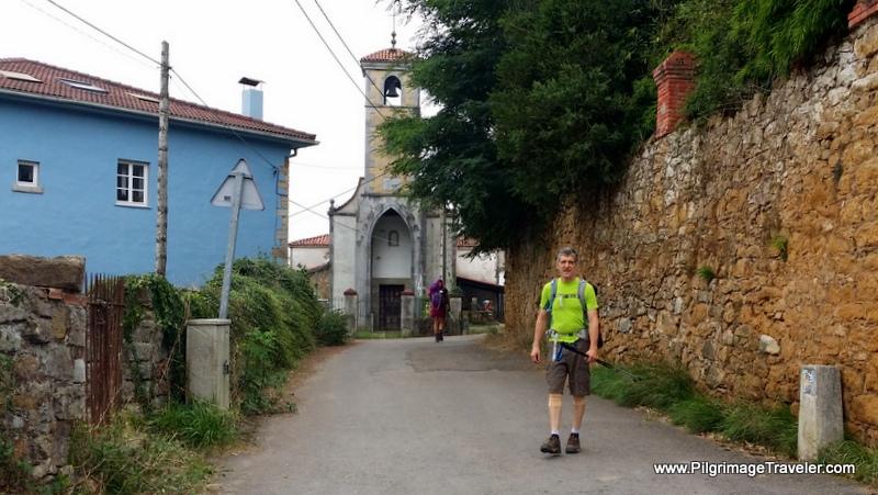 Iglesia de Santa María de Lloriana, Camino Primitivo, Asturias, Spain