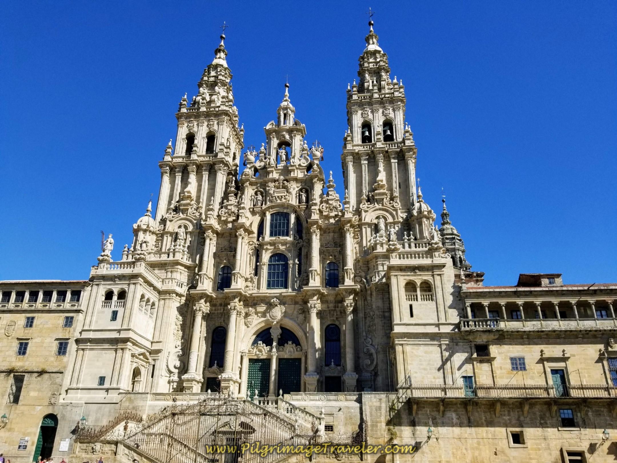 Cathedral of Santiago de Compostela, Restoration complete