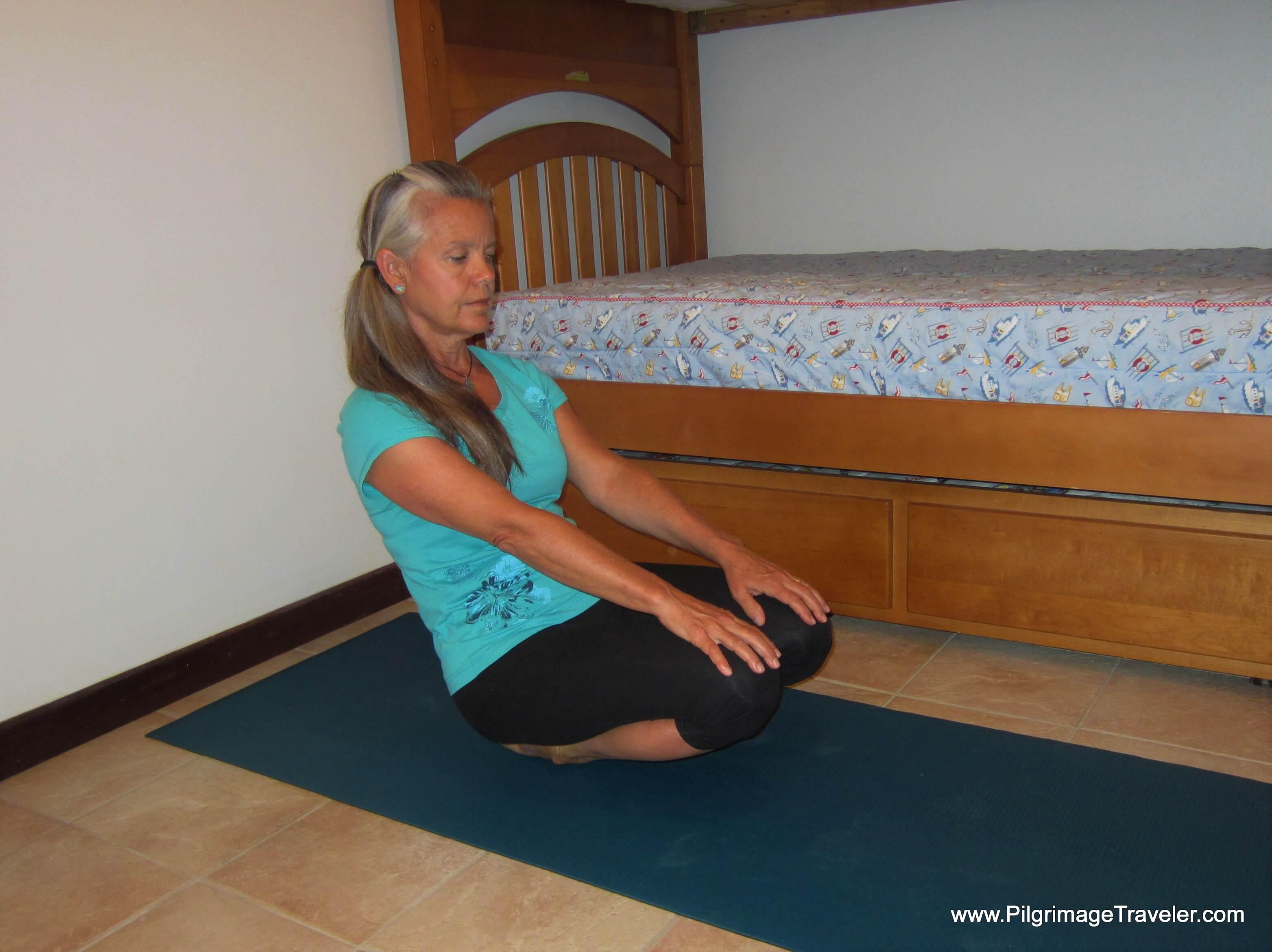 Ankle Plantar Flexion Stretch - Step Three