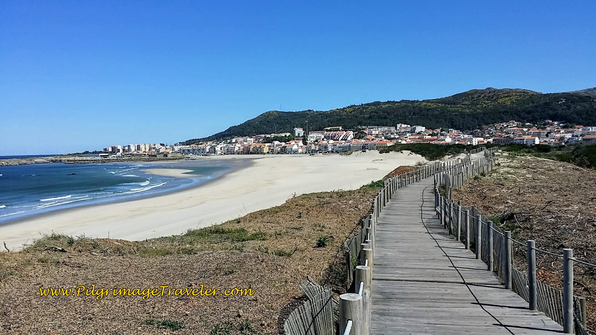 Boardwalks Abound on the Senda Litoral, Camino Portugués