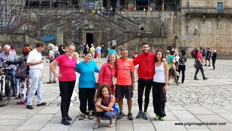 My Camino Inglés Pilgrim Family