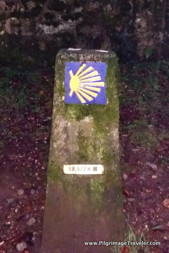 First Waymark, Day One, Camino Finisterre