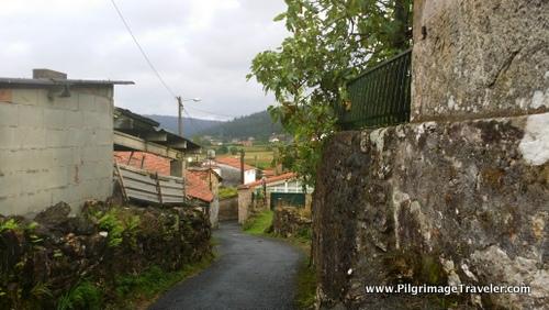 Rural Farms in Galicia, Spain