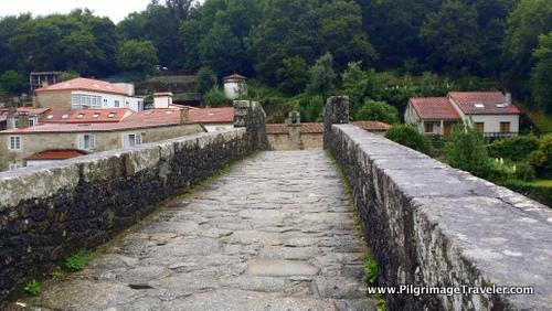 13th Century Bridge, Ponte Maceira, Galicia, Spain