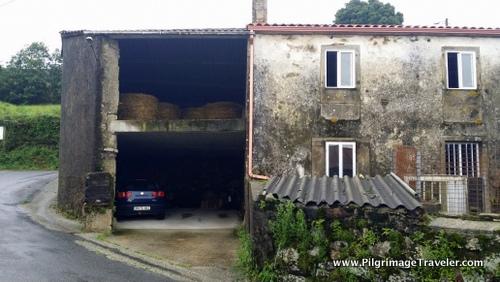 Attached Barn, Camino Finisterre