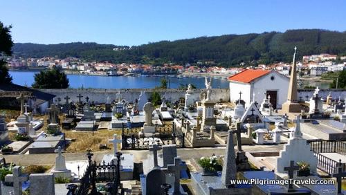 Quaint Graveyard, Cée, Galicia, Spain