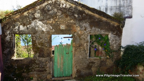 Dilapidated House in Corncubion, Galicia, Spain