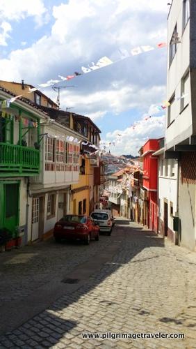 Cobblestone Street, Betanzos, Spain