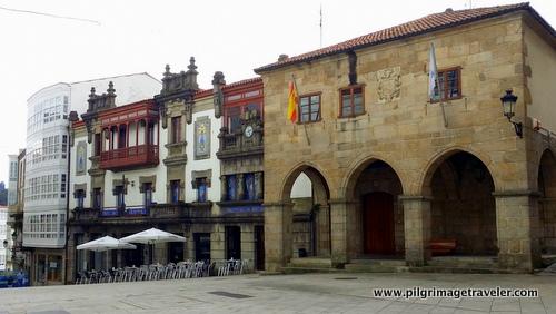 Pazo de Bendana, Manor House, Betanzos, Spain