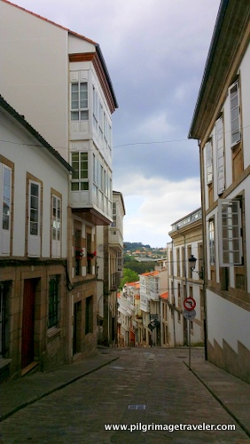 Narrow Streets of Betanzos, Spain