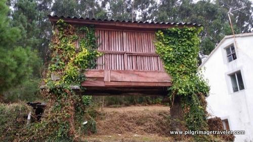 Horreo Granary, Galicia, Spain