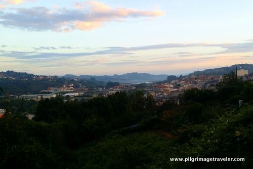 Sunrise over Betanzos, Spain