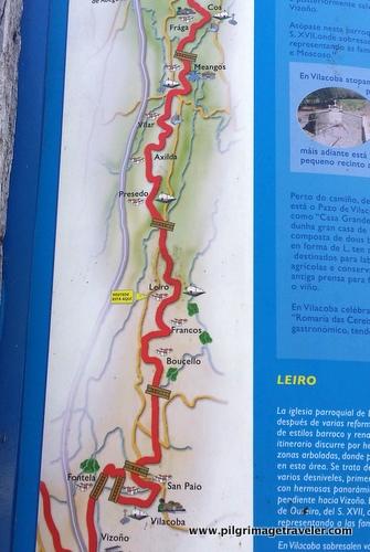 Cos to Leiro, Camino Inglés, Spain