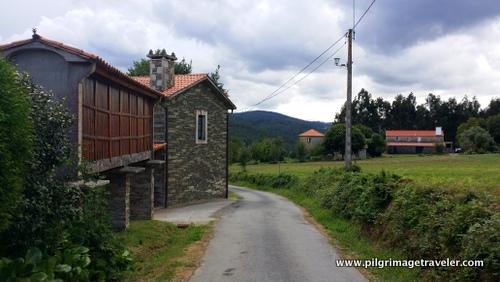 Horreo Granary, Camino Inglés, Spain