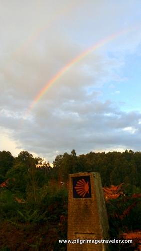 Double Rainbow on the Camino de Santiago
