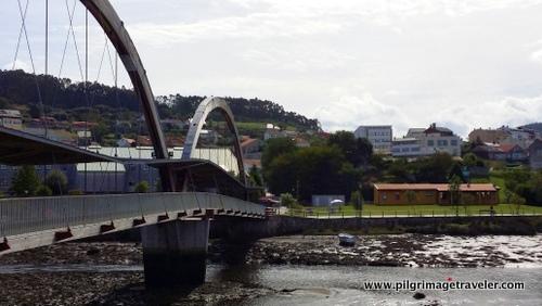 Footbridge and Municipal Albergue of Neda