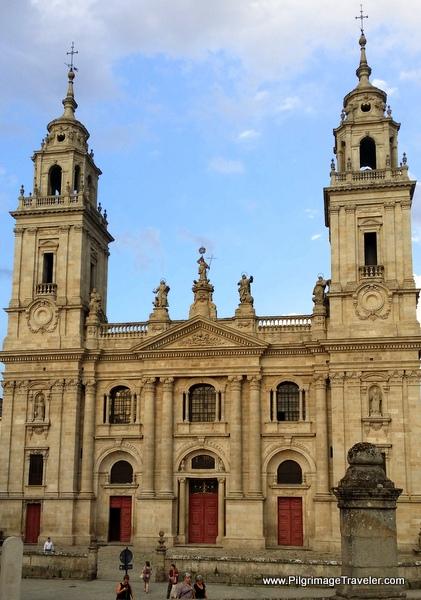 Main Façade of the Cathedral de Santa María de Lugo