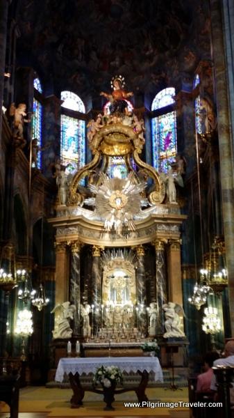 Main Altar of the Cathedral de Santa María de Lugo