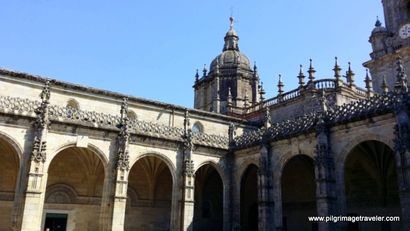 Cloister, Cathedral of Santiago de Compostela, Spain