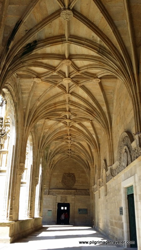 Cloister Hallways of the Cathedral of Santiago de Compostela, Spain