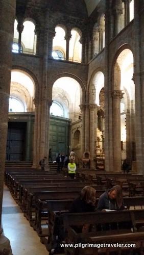 Puerta de Azabachería and the Cross Nave, Cathedral of Santiago de Compostela